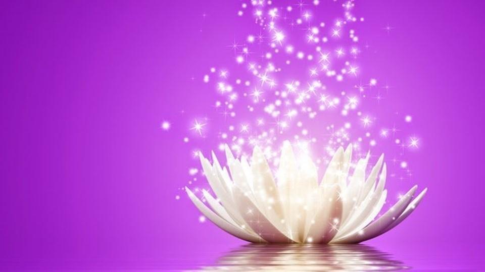 meditacion llama violeta